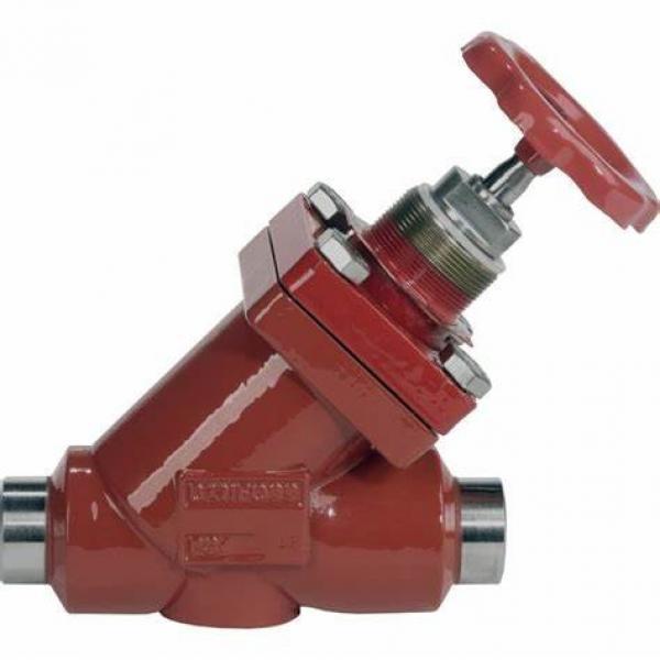 Danfoss Shut-off valves 148B4611 STC 50 A ANG  SHUT-OFF VALVE HANDWHEEL #2 image
